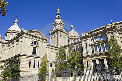 The National Palace of Montjuic