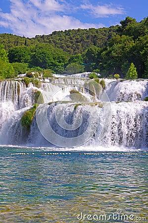 National Park Krka, river Krka,