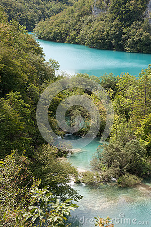 National park: Plitvice lakes
