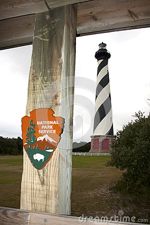 National Park Service Cape Hatteras Editorial Stock Photo