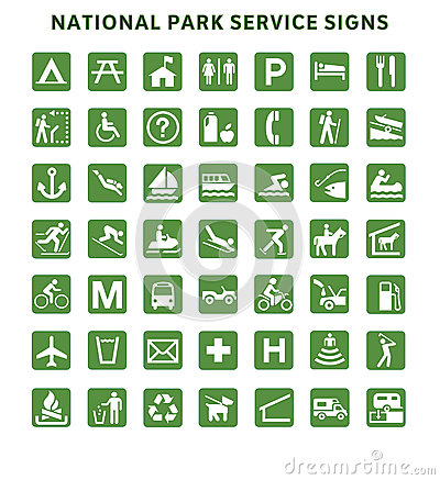 Free National Park Service Signs Stock Photos - 29544383