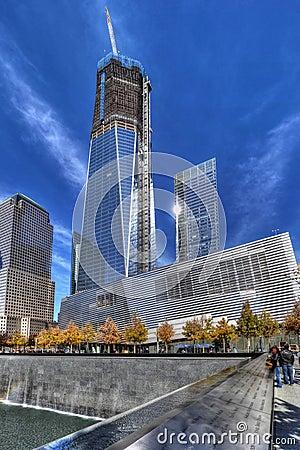 National September 11 Memorial Editorial Photo