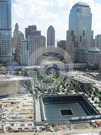 Free National September 11 Memorial & Museum At The World Trade Center Site Stock Images - 32720574