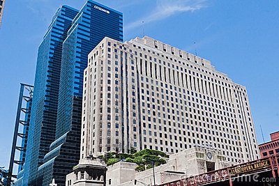 National Surgical Hospital in Chicago Illinois Editorial Stock Image
