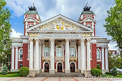 National theatre Ivan Vazov, Sofia, Bulgaria