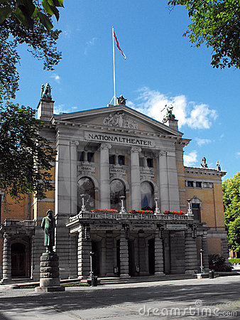 National Theatre, Oslo, Norway
