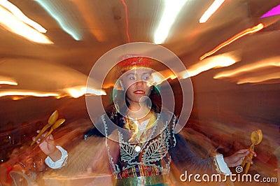 National Turkish dance Editorial Stock Photo