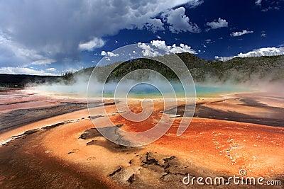 Nationalpark yellowstone