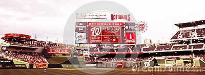 Nationals Park Washington, DC Editorial Stock Image
