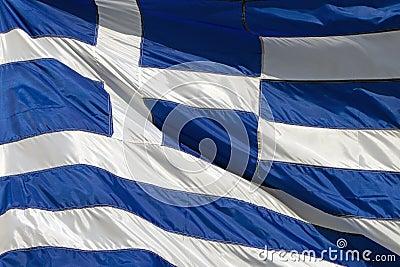 Nationell flagga av Grekland