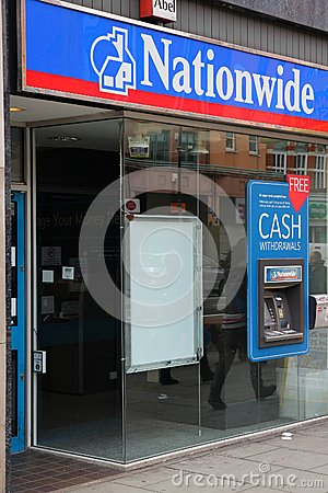 Nationwide Building Society Editorial Stock Photo