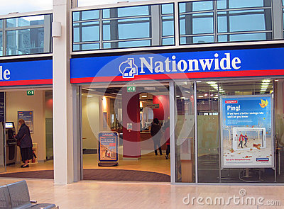 The Nationwide building society. Editorial Photo