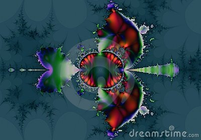 Native American Abstract Fractal