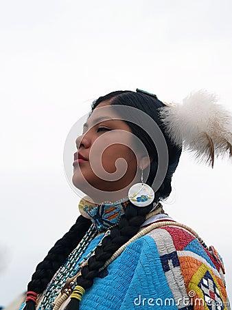Free Native American Dancer 4 Stock Photo - 10464070