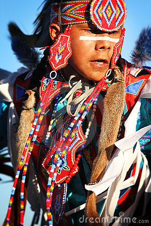 Native American Dancers Editorial Image