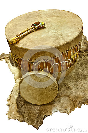 Free Native American Drums Stock Photos - 36538013