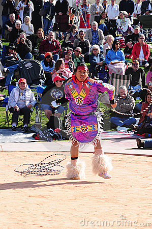 Native American Hoop Dance World Championship Editorial Photo