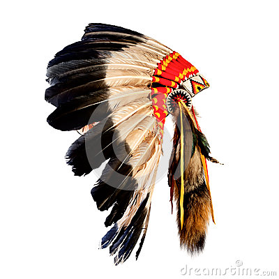 Free Native American Indian Chief Headdress Stock Photos - 30770823