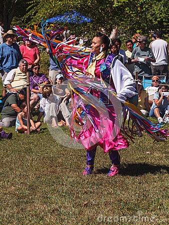 Native American Indian Dancer Editorial Photo
