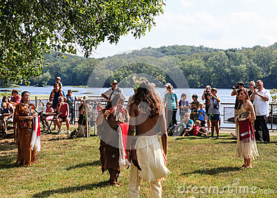 Native American Indian Festival Editorial Photography