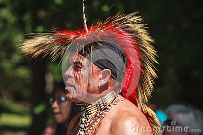 Native American Indian Editorial Image