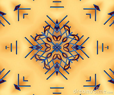 Native American Pattern Background