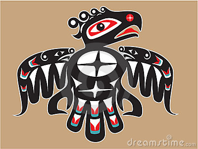 Native American Style Thunderbird