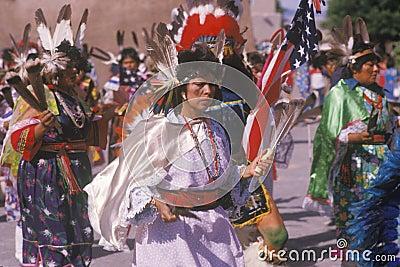 Native American woman Editorial Image