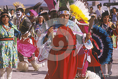 Native American women Editorial Image