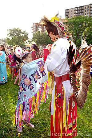 native first nation american indian pow wow Editorial Photo