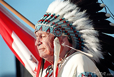 Native Indian Editorial Image