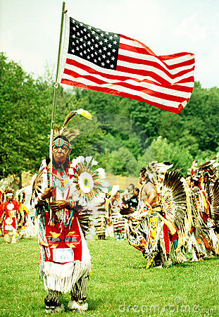Native Indian Pow Wow Editorial Photo