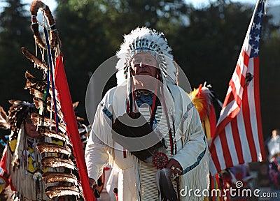 Native Indian Pow Wow Editorial Photo