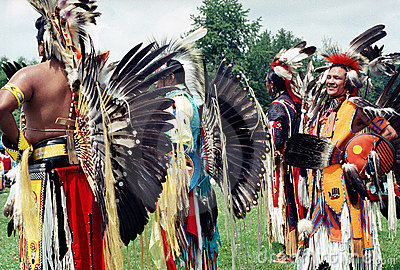 Native Indians Royalty Free Stock Image - Image: 4716186