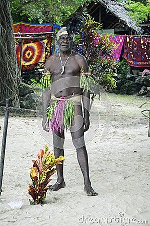 Native Man. Editorial Image