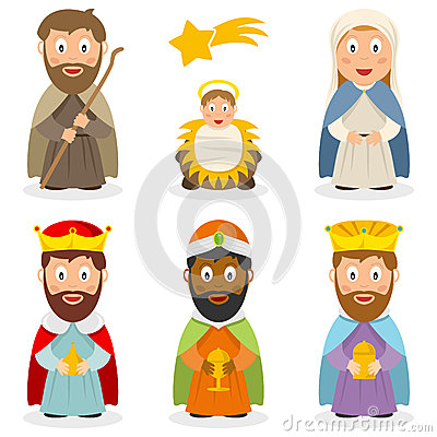 Free Cartoon Nativity Clipart