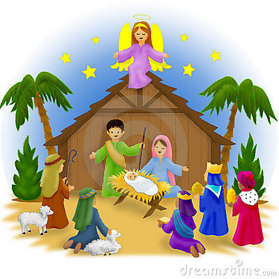 Free Nativity Children Royalty Free Stock Photos - 1057928