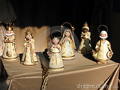 Nativity clays