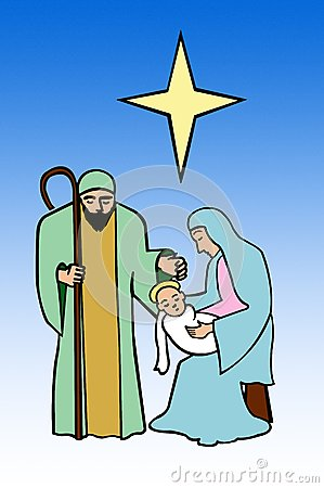 Nativity, Holy family