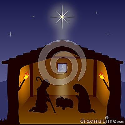 Nativity - The Holy Family