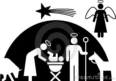 Nativity pictogram