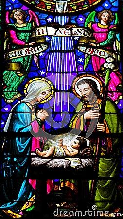 Free Nativity Scene Royalty Free Stock Image - 25733056