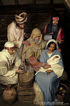 Free Nativity Scene Christmas Stock Image - 16231451