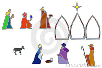 Nativity shapes