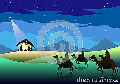 Nativity and Three Wise Men