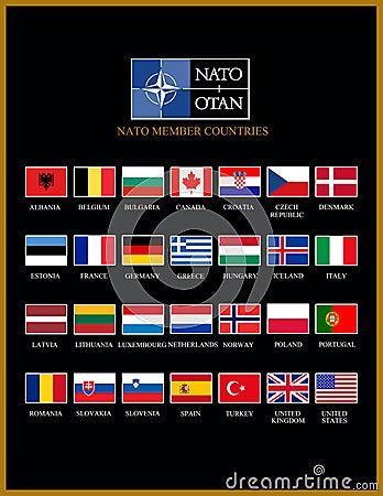 Nato Members Stock Photos Image 36673223