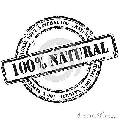 Natürlicher grunge  100 Stempelhintergrund