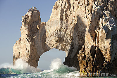 Natural Arch at Land s End Cabo San Lucas Mexico