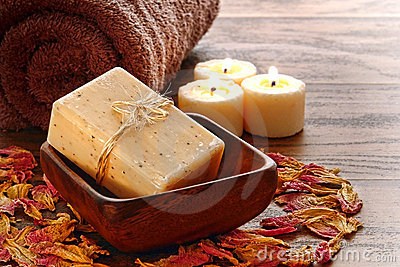 Natural Aromatherapy Marseilles Type Bath Soap Bar