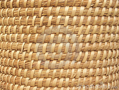Natural Basket-weave Background